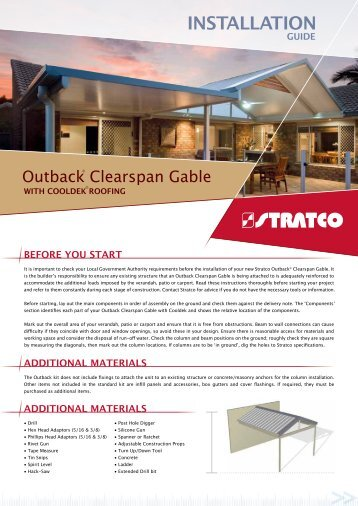 STRATCO GUTTERS INSTALLATION MANUAL Pdf Download - induced info