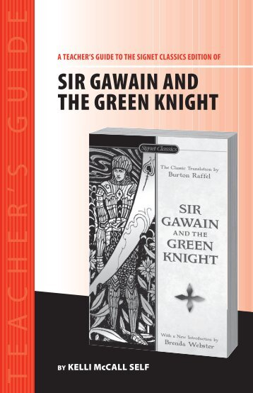 sir gawain and the green knight cliff notes