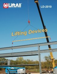 Lifting Devices Catalog 2010.pdf - Lift-All Inc.