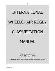 IWRF Classification Manual 2nd ed.pdf - United States Quad Rugby ...