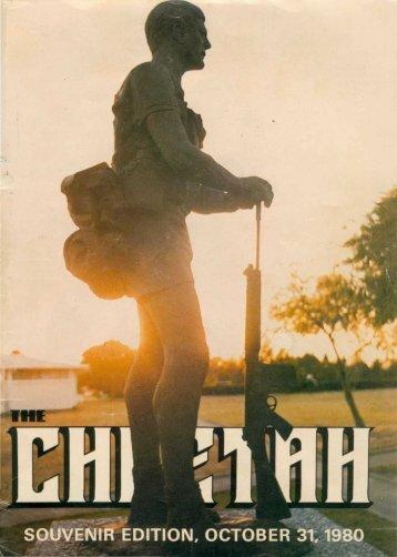 Cheetah RLI Souvenir Oct1980 - Rhodesia and South Africa: Military ...