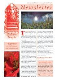 Beltane 2011 - The Glastonbury Goddess Temple