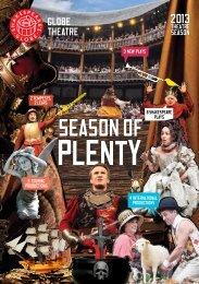 Season of Plenty - Shakespeare's Globe