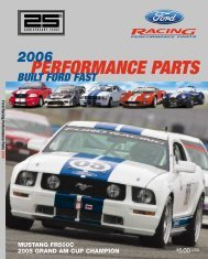 2006 Ford Racing Performance Parts Catalog - Chromwerk
