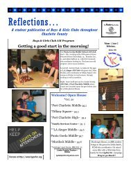 Reflections… - Boys & Girls Clubs of Charlotte County