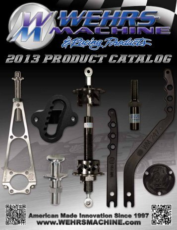 Download Catalog - Wehrs Machine