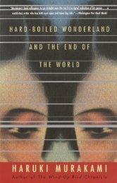 Haruki Murakami - Hard-boiled Wonderland and the End - Not Fine
