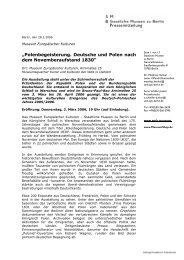"""Pressemitteilung """"Polenbegeisterung. Deutsche und Polen nach ..."""