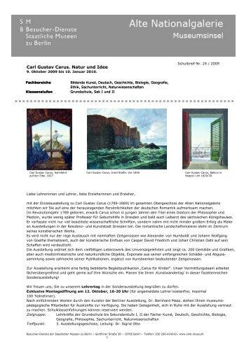 Schulbrief Nr. 24 - Staatliche Museen zu Berlin