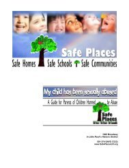 What if My Child Is Not Telling the Truth About the Abuse - Safe Places