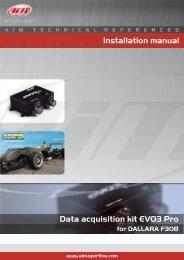 AIM EVO3 Pro Dallara F308 install - LANDER Racing Team