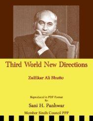 Third World New Directions - Bhutto