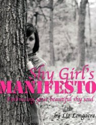 Shy Girl's Manifesto E-Book - Gentle Living