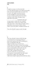 20 Beloit Poetry Journal Summer 2011 JENNy JOhNSON Aria 1 ...