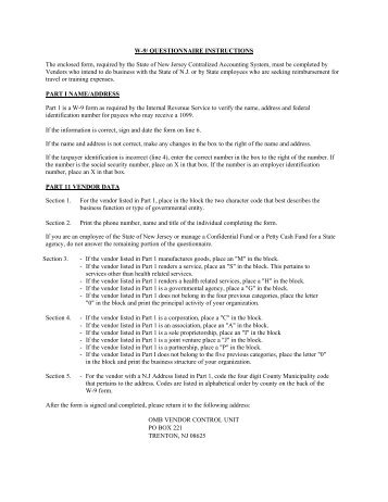 Substitute W-9 Form - Horizon Blue Cross Blue Shield of New Jersey