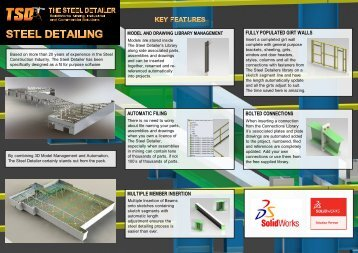 TSD Steel Detailing Brochure 19-08-12 - The Steel Detailer