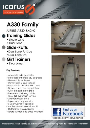 Publication A330 - New - Icarus Training Systems
