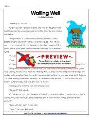 Wailing Well - Super Teacher Worksheets