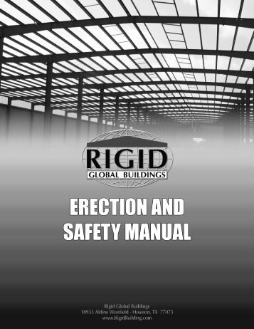 ERECTION AND SAFETY MANUAL - Rigid Global Buildings