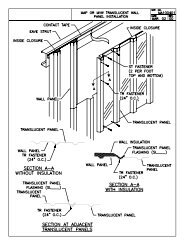 MAP roof panel sample details - Ceco Building Systems