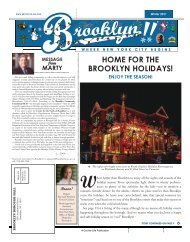 Marty Winter 2011.qxd - Brooklyn Borough President Marty Markowitz