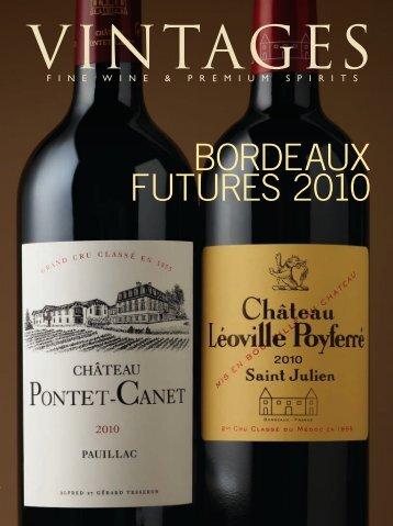 BORDEAUX FUTURES 2010 - Vintages