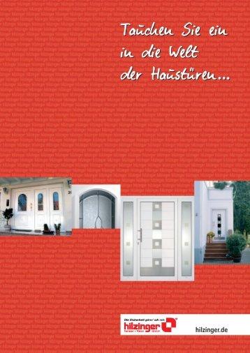 Katalog unseres Lieferanten - Odermatt Fenster + Türen AG