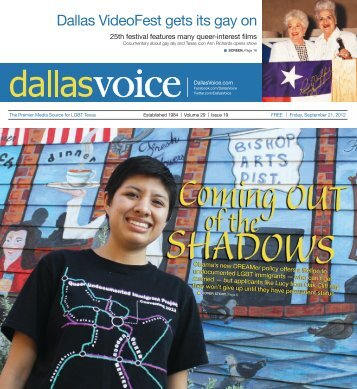 Dallas VideoFest gets its gay on - Dallas Voice