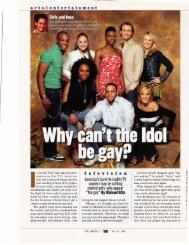 American Idol anti gay Carla Hay, 5-11 - Michael Giltz