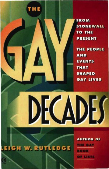 Gay Decades - OaklawnRick