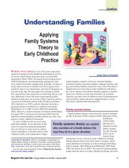 Understanding Families - National Association for the Education of ...