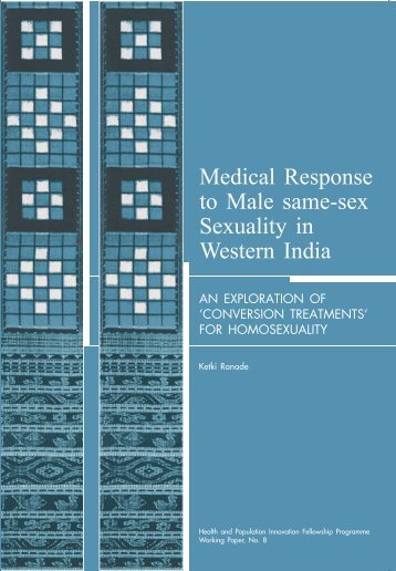 Medical response to male same-sex sexuality in - Population Council