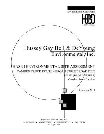 Hussey Gay Bell & DeYoung - SCDOT