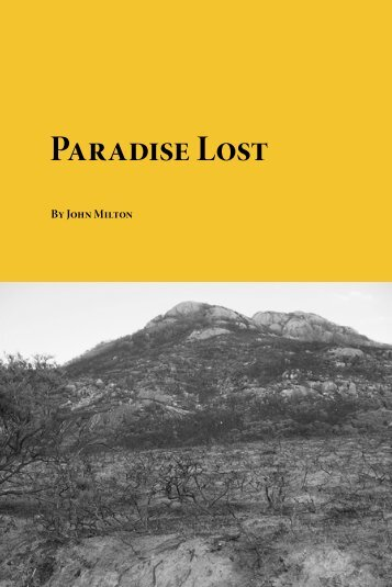 Paradise Lost.pdf - Planet eBook