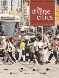 Our Diverse Cities - Metropolis Canada