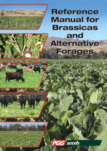 Brassica Reference Manual - Agricom