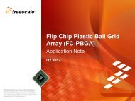 FC-PBGA - Freescale Semiconductor