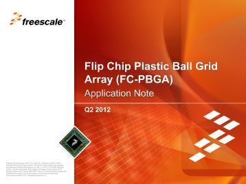 FC-PBGA - Freescale Semiconductor