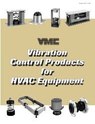 Vibration Control Products for HVAC Equipment - Durable Controls