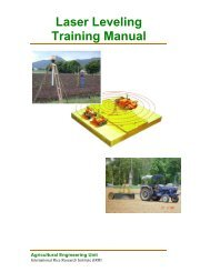 Laser Leveling Training Manual - Rice Knowledge Bank - IRRI