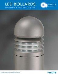 Gardco LED Bollards Brochure - Gardco Lighting