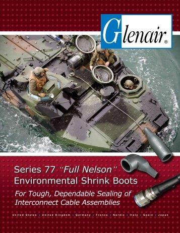 """Series 77 """"Full Nelson"""" Environmental Shrink Boots - Glenair UK Ltd"""