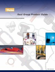 Seal Group Product Guide - Darcoid Rubber Company