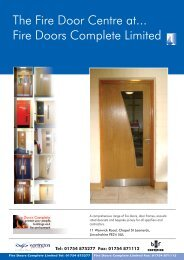 The Fire Door Centre at... Fire Doors Complete Limited