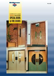 to download the Fire Doors brochure - Bridgman IBC
