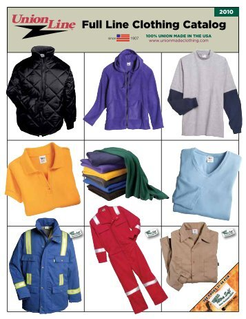Full Line Clothing Catalog - Rubinbrothers.com