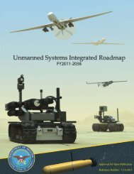 Unmanned Systems Integrated Roadmap FY2011-2036 - Defense ...