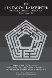 The Pentagon Labyrinth