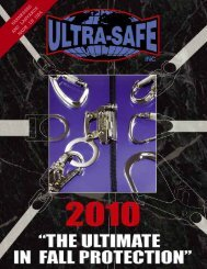 HARNESSES AND LANYARDS MADE IN USA - Ultra Safe Inc
