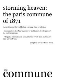 storming heaven: the paris commune of 1871 - Get a Free Blog